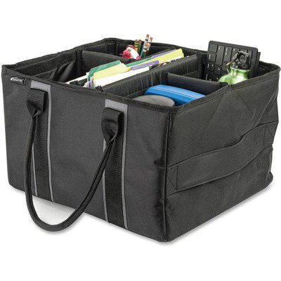 AutoExec Carrying Case (Tote) for Travel Essential - Gray AUE14000
