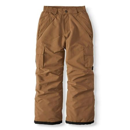 Iceburg Big Boys' Cargo Insulated Snow Pants