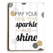 Artehouse LLC May Your New Year Sparkle Wall D cor