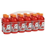 Gatorade Thirst Quencher Sports Drink, Fruit Punch, 12 oz Bottles, 12 Count