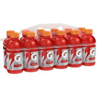 Gatorade Thirst Quencher Sports Drink, Fruit Punch, 12 oz Bottles, 12 Count