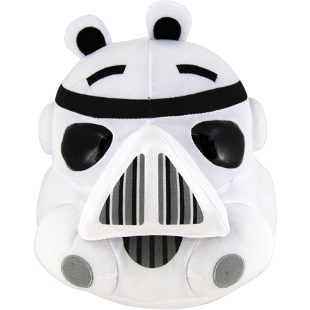 Angry Birds Star Wars Plush Storm Trooper, 16