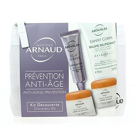 Institut Arnaud Anti-Aging Prevention Discovery Kit by Institut Arnaud (Age Prevention Moisturizer)