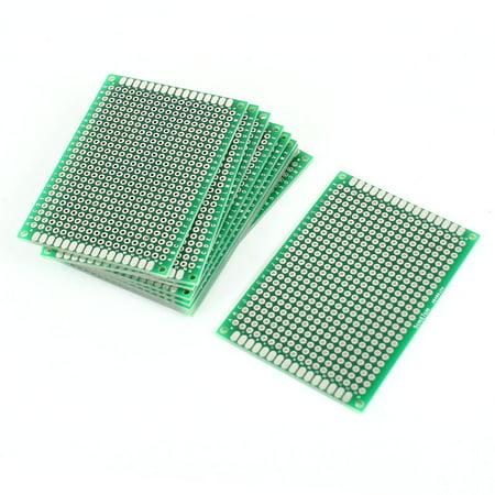 10PCS Double Sided Prototyping Experiment Matrix DIY PCB Circuit Board 5cm x 7cm - image 1 de 1