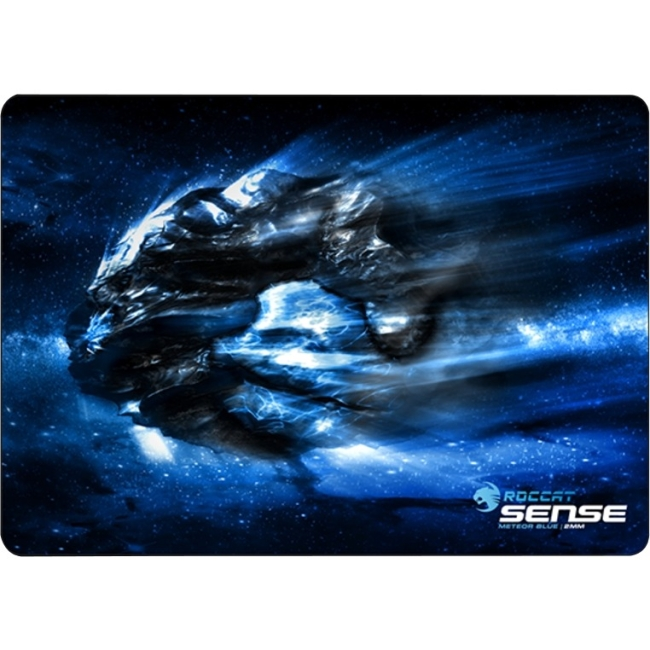 "Roccat Sense - High Precision Gaming Mousepad - 0.1"" X 15.7"" X 11"" Dimension - Chrome Blue - Friction Resistant (roc-13-103-am)"