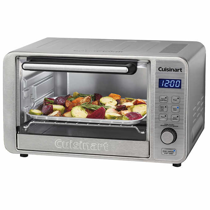 Cuisinart Digital Convection Toaster Oven, Brushed Stainless