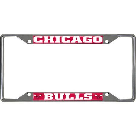 NBA Chicago Bulls License Plate Frame - Walmart.com