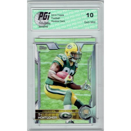 Ty Montgomery 2015 Topps Football #446  Green Bay Packers Rookie Card PGI 10