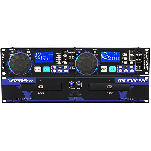 VocoPro CDG8900 PRO Dual Tray CD Karaoke Player by VocoPro