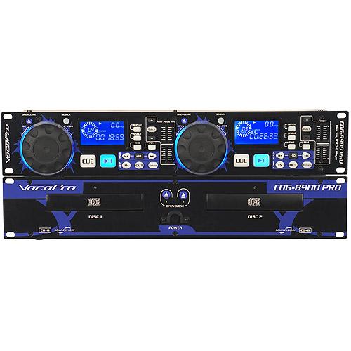 VocoPro CDG8900 PRO Dual Tray CD Karaoke Player