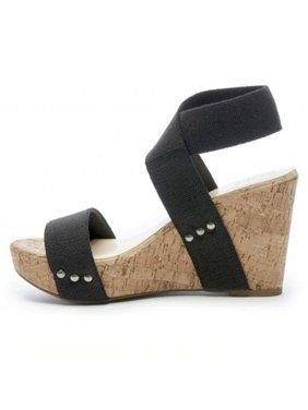 6d380acb0 Free shipping. Product Image Women Wedge High Heels Sandals Ankle Strap  Peep Toe Summer Shoes Casual