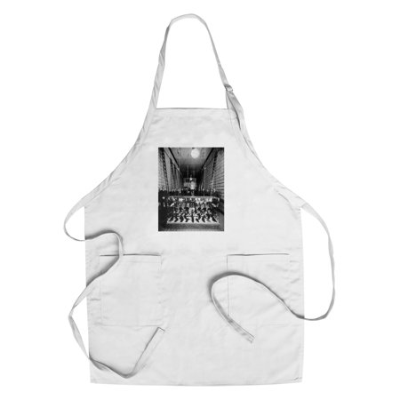 Wallin   Nordstrom Shoe Store   Seattle  Washington  Cotton Polyester Chefs Apron