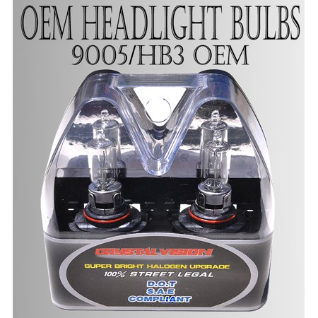 9005 HB3 12V 65W Direct Replacement For Auto Factory Halogen Light Bulbs [Standard Factory Color] w/ Mbox by ICBEAMER