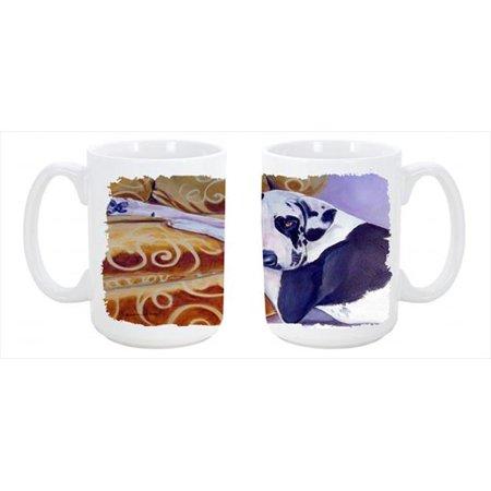 Harlequin Natural Great Dane Dishwasher Safe Microwavable Ceramic Coffee Mug 15 oz. - image 1 de 1