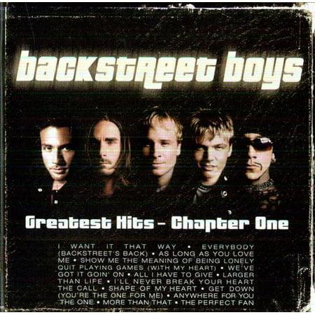 Greatest Hits-Chapter 1 (CD) Backstreet Boys Music Book