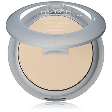 Oil Free Foundation Primer (L'Oreal Paris True Match Super-Blendable Oil Free Makeup Powder, Nude Beige, 0.33 oz.)