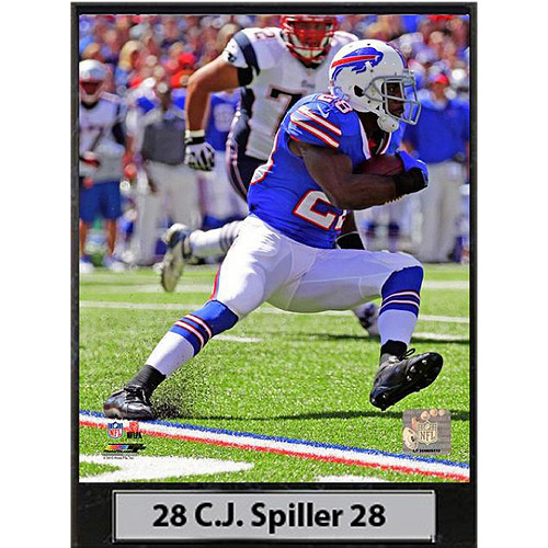 NFL C.J. Spiller Photo Plaque, 9x12
