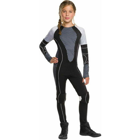 The Hunger Games Catching Fire Katniss Teen Halloween Costume (Halloween Games For Outside)