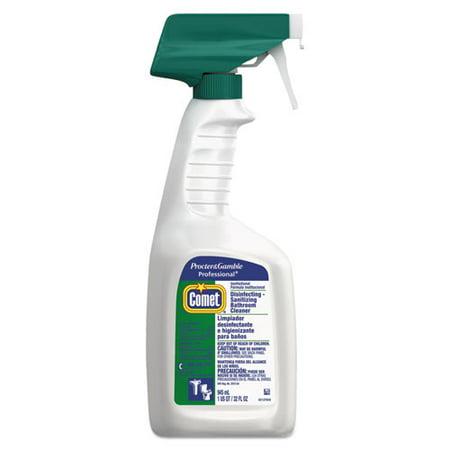 Disinfecting Sanitizing Bathroom Cleaner  32 Oz  Trigger Bottle