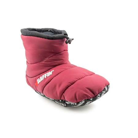 6c89d60f5465 Baffin - Baffin Cush Insulated Slipper Booty Round Toe Canvas ...