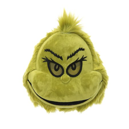 Dr. Seuss The Grinch Plush Mouth Mover Mask by elope - Dr Seuss Masks