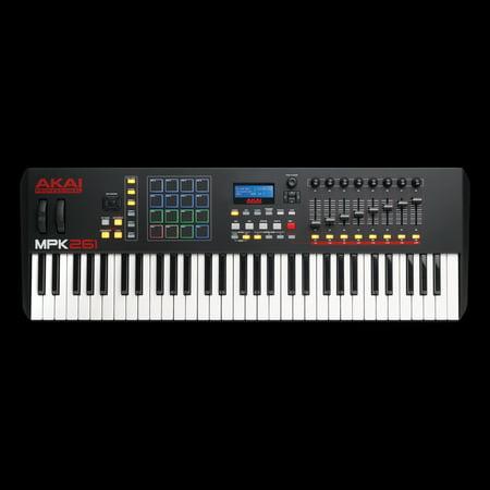 Akai MPK261 61 Semi Weighted Keys MIDI Controller Keyboard