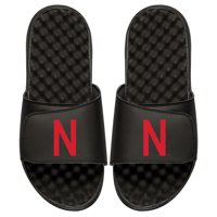 Nebraska Cornhuskers ISlide Primary Logo Slide Sandals - Black