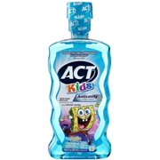 ACT Kids Anticavity Fluoride Rinse Ocean Berry 16.90 oz (Pack of 4)