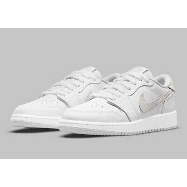 Nike Air Jordan 1 Low OG Neutral Grey (2021) (GS) Youth Size 7Y