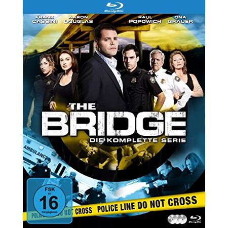 The Bridge (Complete Series) - 3-Disc Set ( The Bridge (13 Episodes) ) [ Blu-Ray, Reg.A/B/C Import - Germany ]
