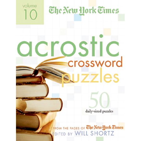 The New York Times Acrostic Puzzles Volume 10 : 50 Engaging Acrostics from the Pages of The New York Times](Times Square Halloween 2017)