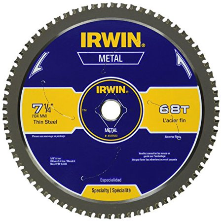 Industrial Cutting Blades - Irwin 4935560 7-1/4-Inch 68 Tpi Metal Cutting Blade