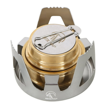 REDCAMP Mini Alcohol Burner Stove, backpacking pocket stove, Portable for Camping Backpacking Hiking
