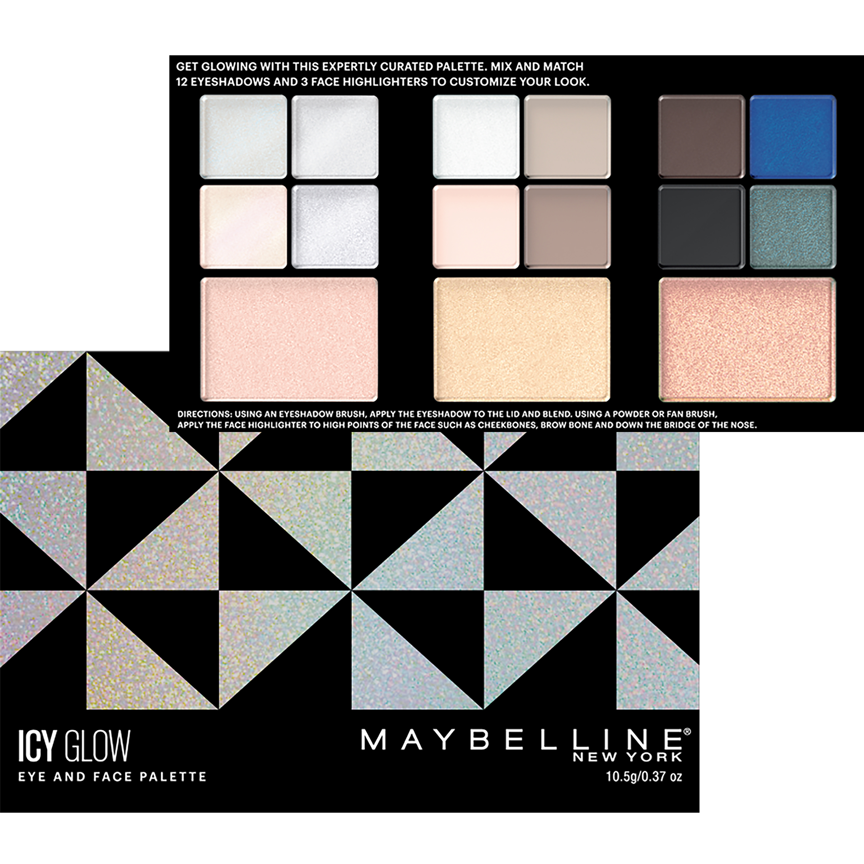 Maybelline Icy Glow Eye and Face Palette