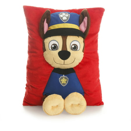 Nickelodeon Paw Patrol 3 D Decorative Pillow   Chase