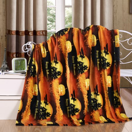 (Holiday Season Throw Blanket, Soft & Plush, 50x60, Halloween)
