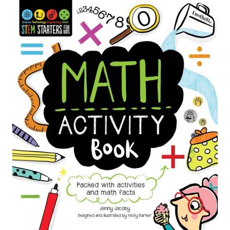 Stem Starters for Kids Math Activity Book