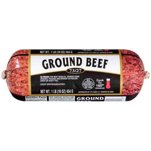 Fpc Foods Llc: Ground 73/27 Beef, 16 oz
