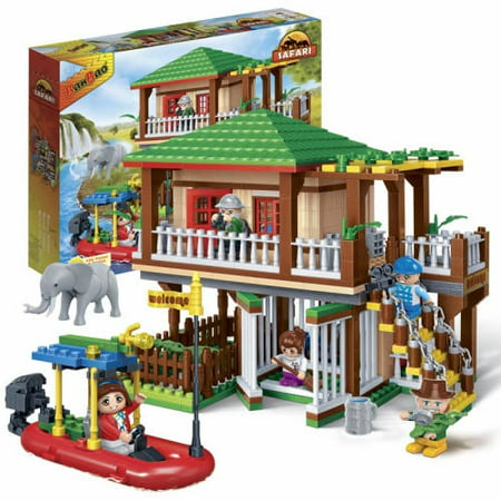BanBao Safari Tour 442-Piece Building Set