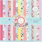 """Papermania Paper Pack, 12"""" x 12"""", 32-Pack"""