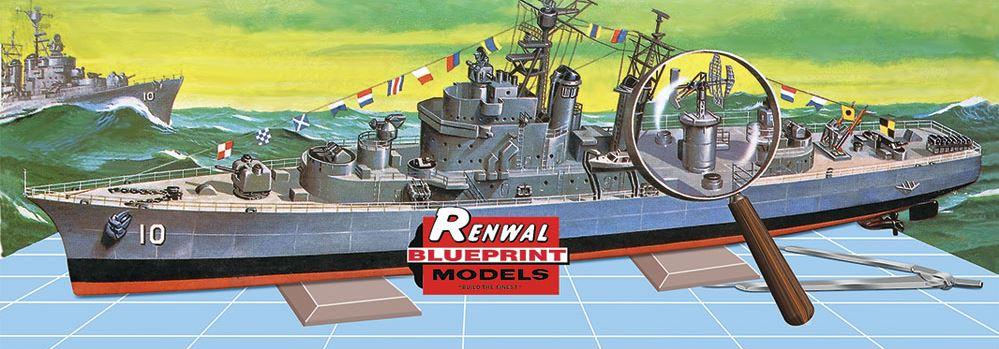 Revell 85-0603 1:500 U.S.S King by Revell