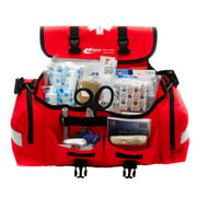 Best Emt Kits - Emergency Response First Aid Kit Packed in Red Review