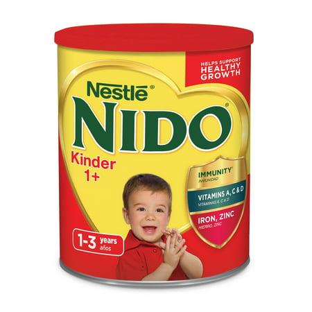 NIDO Kinder 1+ Powdered Milk Beverage 3.52 lb. Canister