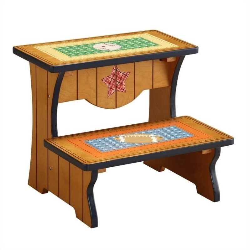 Fantasy Fields Lil' Sports Fan Step Stool