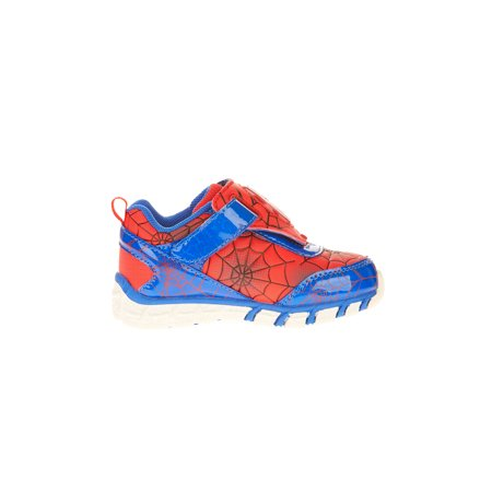 Marvel Spiderman Toddler Boy's Athletic Shoe](Spiderman Shoes With Lights)