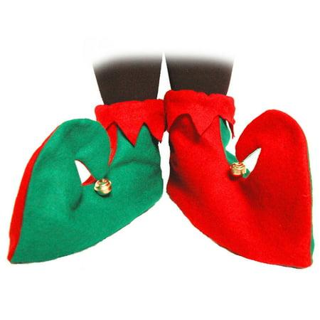 Cp Felt Elf Shoes Adult Unisex Halloween Accessory](Bad Elf On The Shelf Halloween)