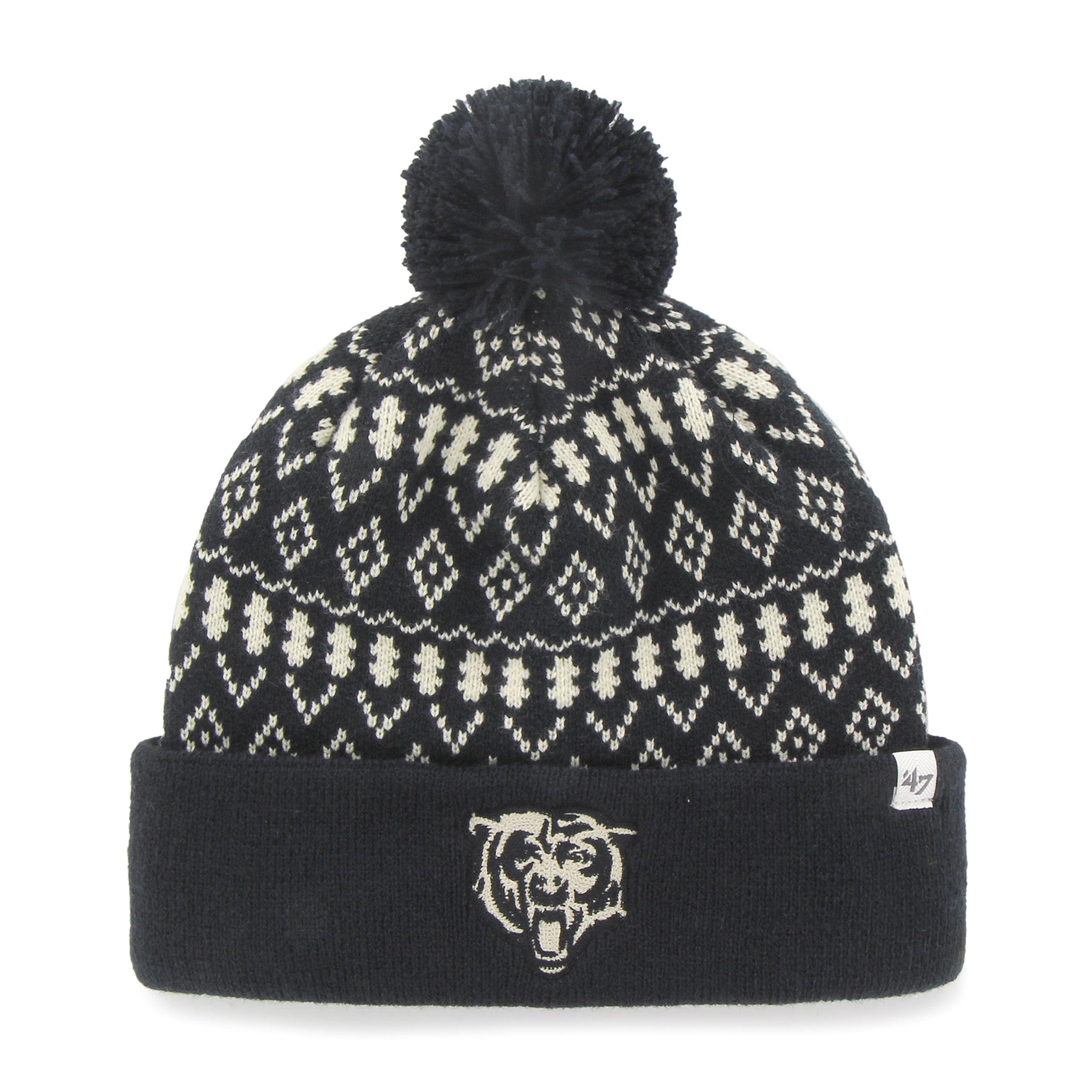 Chicago Bears Eileen Women's Navy Cuffed Knit Hat by 47 Brand