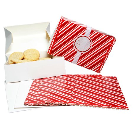 Holiday Diecut Cookie Boxes (Valentine Cookie Box)
