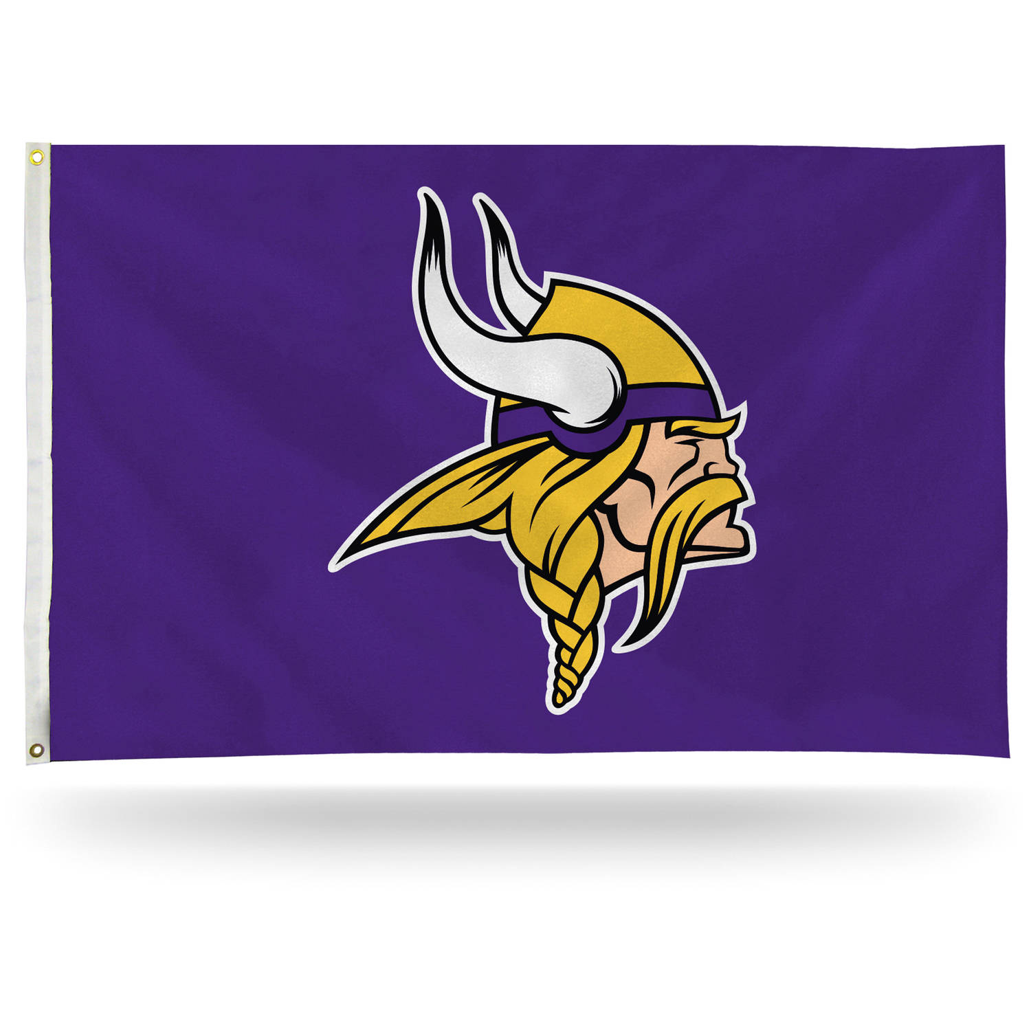 Rico Industries NFL 3' x 5' Banner Flag, Minnesota Vikings