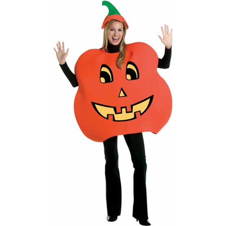 Pumpkin Adult Halloween Costume - Easy Pumpkin Halloween Costume